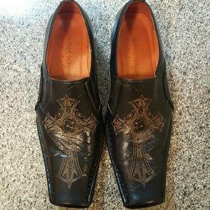 ROBERT WAYNE Gothic Men's Shoes 9